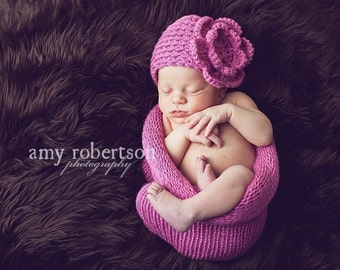 newborn photo prop,Victorian rose,cocoon and hat with rose for newborn princess ,great for photos prop ,soft and stretched