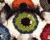 Crochet Eyeball Scarf - PDF Pattern