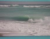 Beach Wave Image - Canvas Gallery Wrap