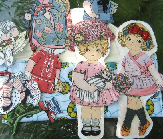 Paper Dolls In A Pocket Book