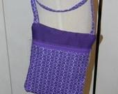 Purple Heart Zipper Purse