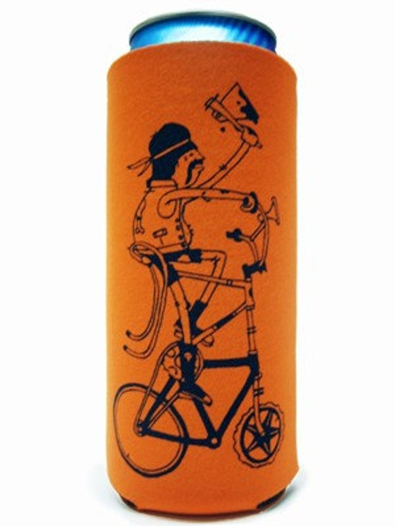 Tall Bike Tall Boy Koozies