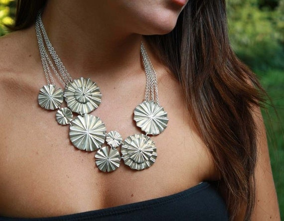 SALE Couture Ruffle Necklace