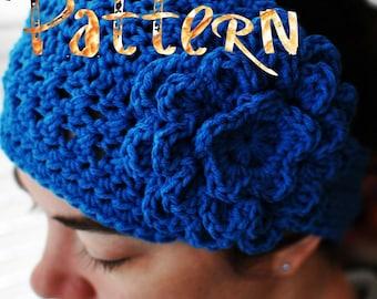 PDF Crochet Pattern - Ladies Cozy Wrap w/ Chrysanthemum flower