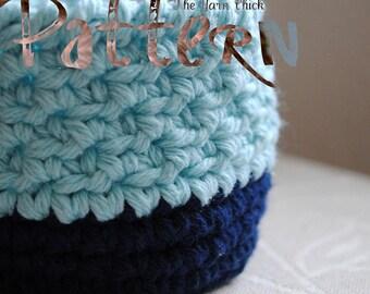 PDF Crochet Pattern - Knick Knack Keeper