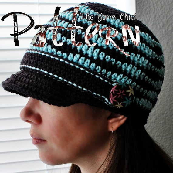 PDF Crochet Pattern - Felisha Cap