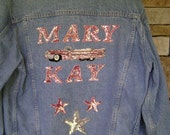 MARY KAY DENIM EMBELLISHED JACKET