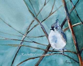 sale painting bird prints sale 5x7 Gift under 30 watercolor Bird ART PRINT SET Bird wall Art home decor painting Group chickadee vireo small