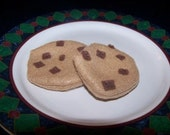 Felt Food - Chocolate Chip Cookie