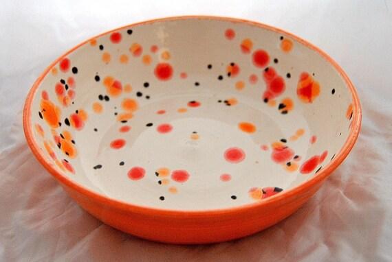 Orange Ladybug Bowl by SAMOS