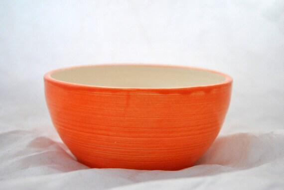 Orange Heart Bowl by SAMOS