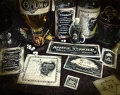 Apothecary Stickers Highly Poisonous  Part 3 of 3