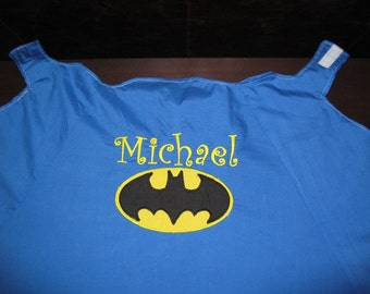 Batman Cape, Personalized, Reversible, Washable...made like super hero capes