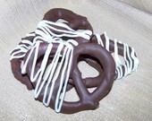 Double Chocolate Pretzel Twists