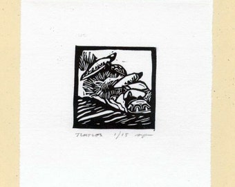 Tiny Turtles Linocut