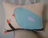 Bluebird Mini Pillow