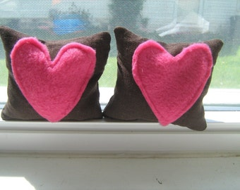 Chocolate Covered Hearts Bean Bag