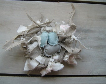 Le Linen Scrap Nest