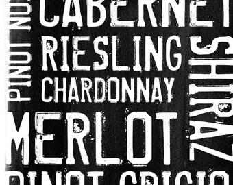 Wine 2 - Wall Art