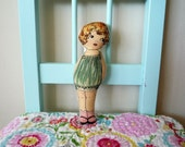 Princess Amy / fabric vintage inspired cloth doll