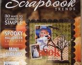 Scrapbook  Trends October 2010