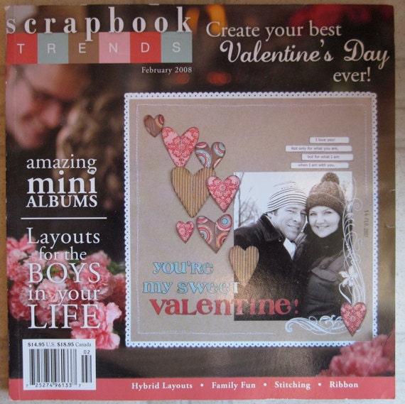 Scrapbook Trends Febuary 2008