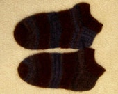 Slippers  100% Wool  Mens 11-13  Hand Knit