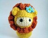 Little Lion Doll Amigurumi Crochet Pattern PDF file