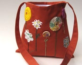 child's messenger bag organic in the autumn / eco friendly hope fall harvest