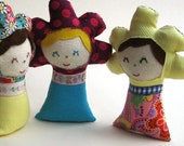 Baby DOLL Toy - Summer Flower Meadow Fairy Organic Eco-Friendly Waldorf Toy (Ready to Ship)