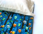 Nap Mat Organic Pillow Case Sham Cover - ADD-ON for Eco Friendly Preschool Toddler Napmat Order, Handmade by SewnNatural