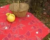 Marimekko Picnic Blanket - Scandinavian Summer Alfresco Dining Food Blanket - Wedding, Anniversary, Statement Gift (Ready to Ship)