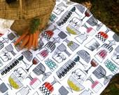 Picnic Blanket MARIMEKKO - Mod Eco Friendly Alfresco Dining Summer Outdoors Blanket (Ready to Ship) Wedding Gift Idea