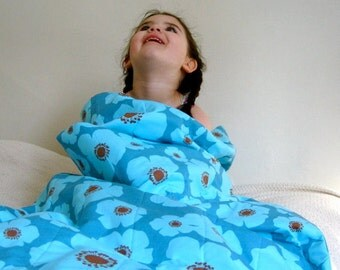 The Kinder Kids' Organic Sleeping Bag™ - Childrens' Organic SLEEPING BAG - Modern Bedding Sack - Eco Friendly