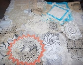 Doily Handmade Collection 24 Pretty Pieces