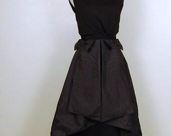Vintage Dress Black Couture