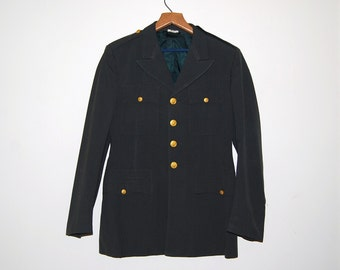 SALE........Vintage Army Military Blazer Jacket
