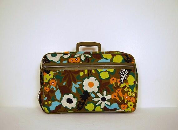 Flower Power Suitcase