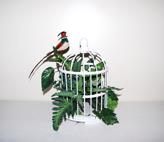 SALE.........Vintage Bird Cage Wicker