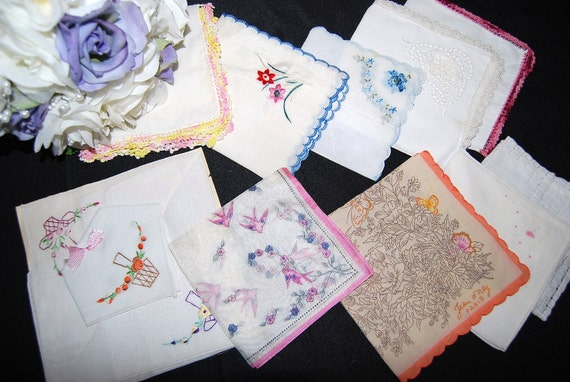 Bouquet of Lovely Hankies