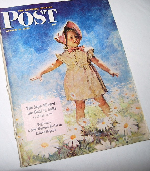 1943 Saturday Evening Post