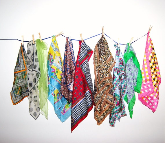 Vintage Scarf Collection