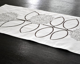 Brown Sunflower Table Runner  Popular Items For Modern Table Runner On Etsy