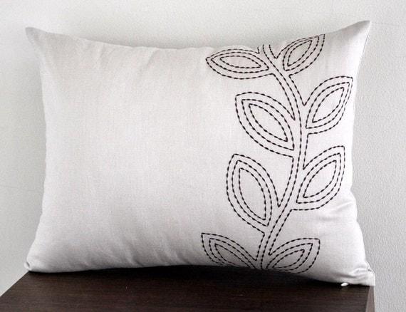 Items Similar To Lumbar Pillow Cover Decorative Pillow