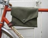 bike bag ... Top Tube VeloPocket - army cordura
