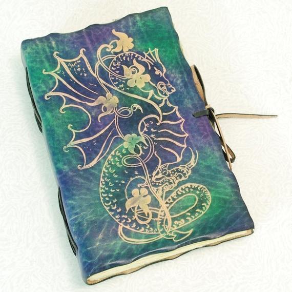 Dark DRAGON, Leather Journal.