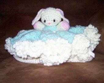 Crochet Pattern - Bunny Bed Doll