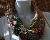 A Taste of India cowl in Sari silk