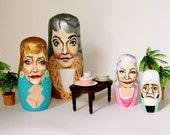 Golden Girls Nesting Dolls (no. 3)