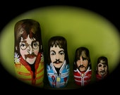 The Beatles Nesting Dolls